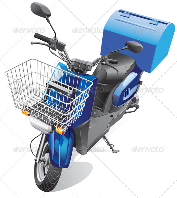 Courier Scooter