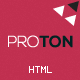 Proton - Responsive HTML Business Website Template - ThemeForest Item for Sale