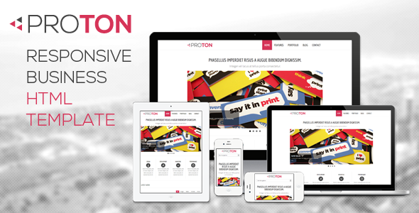 Proton - Responsive HTML Business Website Template
