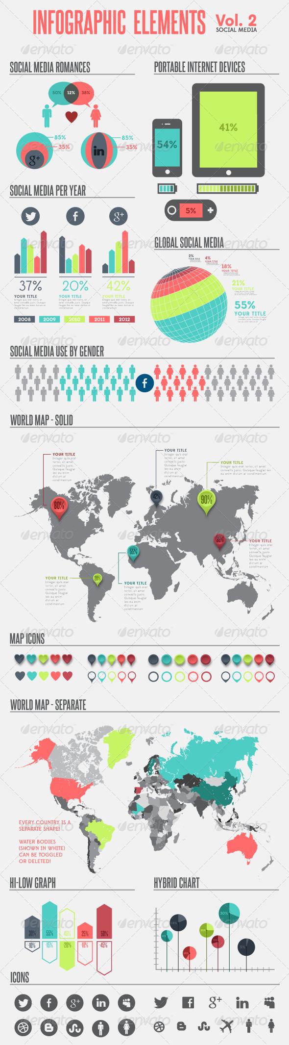 GraphicRiver Infographic Elements Vol 2 3079731