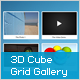 3D Cube Grid Gallery - ActiveDen Item for Sale