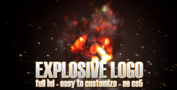 After Effects Project - VideoHive Explosive Logo 3079844