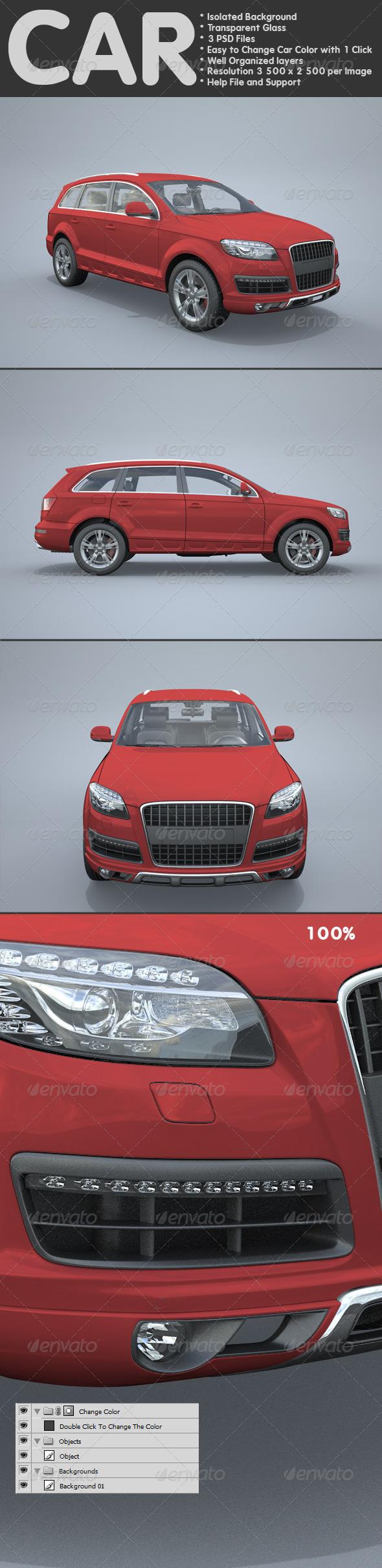Car  - Miscellaneous 3D Renders