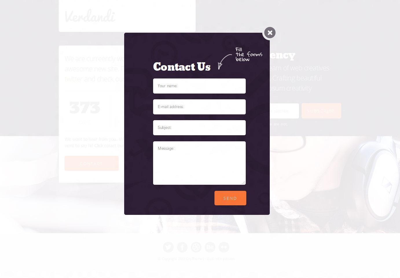 Verdandi - Under Construction Page