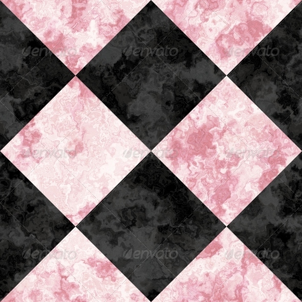 seamless rose pink and black marble floor texture with a tiling    Pink And Black Texture