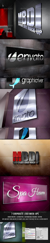 GraphicRiver Corporate Logo Mock-up 3027751