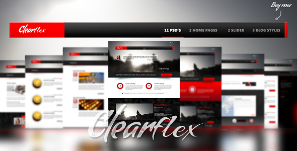 Clearflex PSD Templates - 00_preview_large