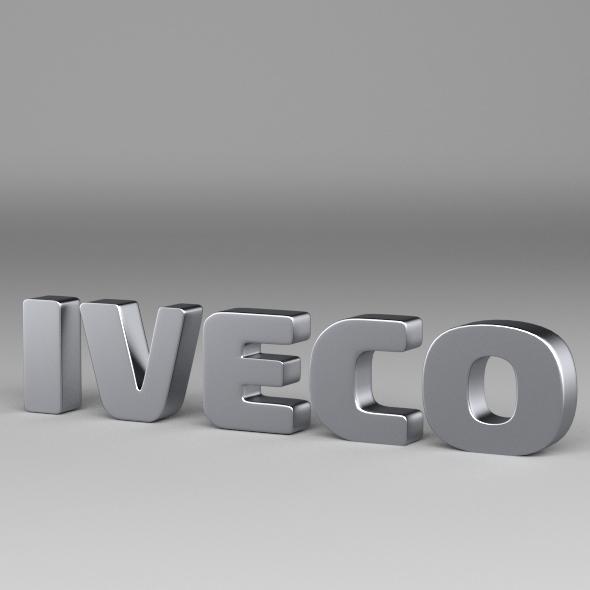 3DOcean Iveco Logo 3085425