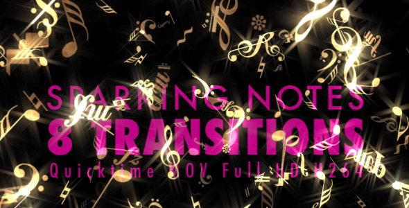 Sparking Notes 8 Transitions