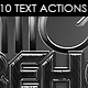 Alien Warehouse - Text Actions. - GraphicRiver Item for Sale