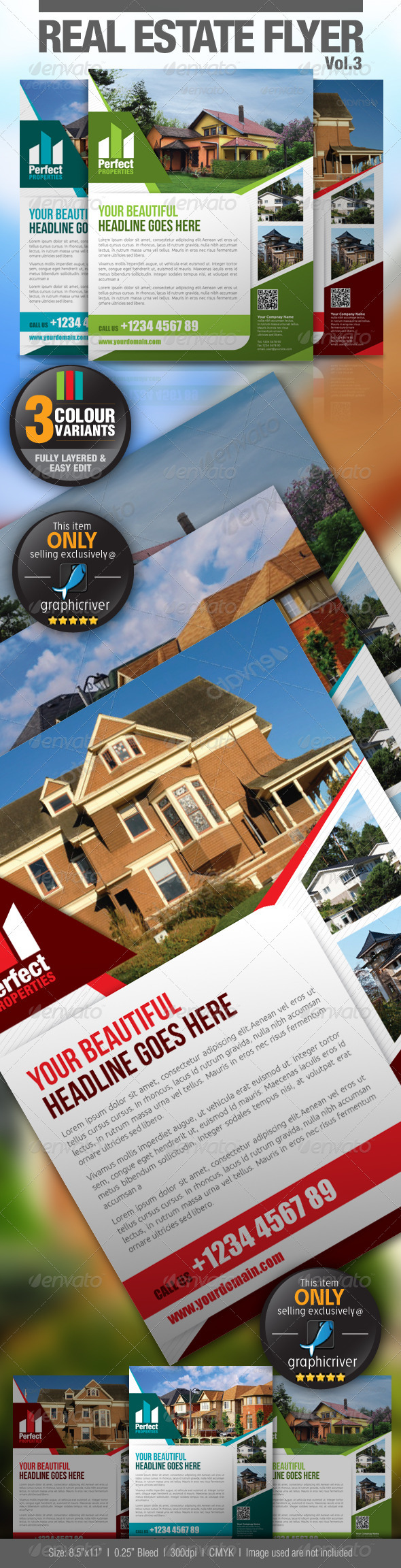 GraphicRiver Real Estate Flyer Vol.3 2794932