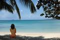 Girl on Tropical Beach - PhotoDune Item for Sale