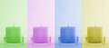 Four colorful candles - PhotoDune Item for Sale