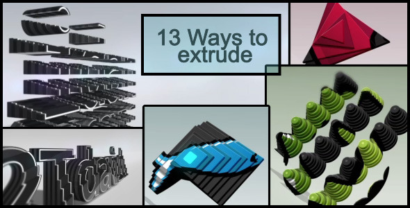 After Effects Project - VideoHive Extrude Package 3089230