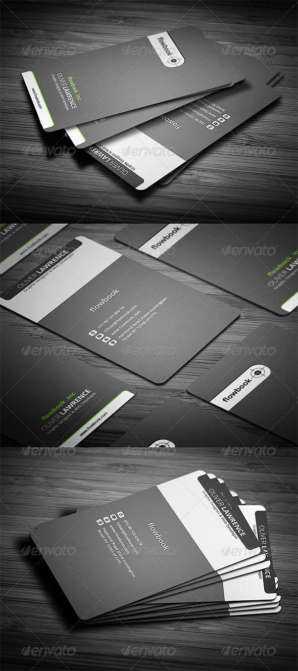 GraphicRiver Name Card 3089572