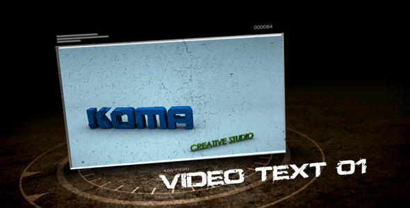 After Effects Project - VideoHive Hi-Tech Grunge Presentation 109555