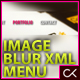 Masked Image Blur XML Menu - ActiveDen Item for Sale