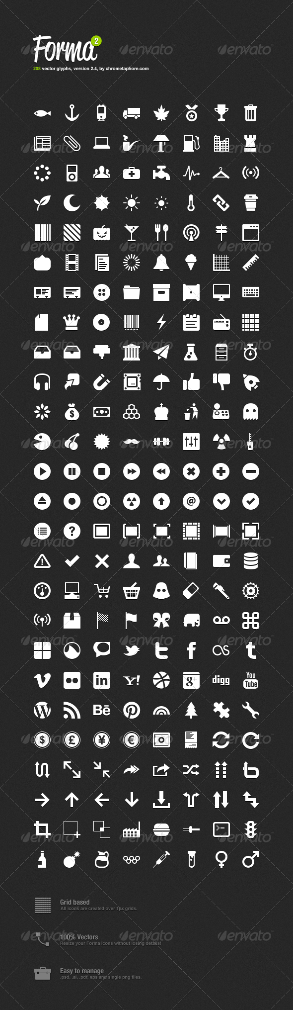 GraphicRiver Forma Icon Pack 2 554858