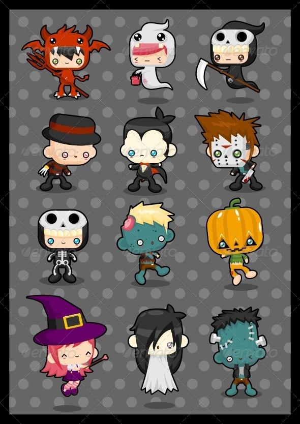 Kawaii Costume Pack: Halloween