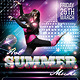 Hot Summer Music Flyer - GraphicRiver Item for Sale