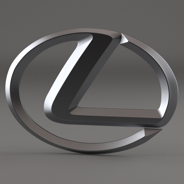 3DOcean Lexus Logo 3091890