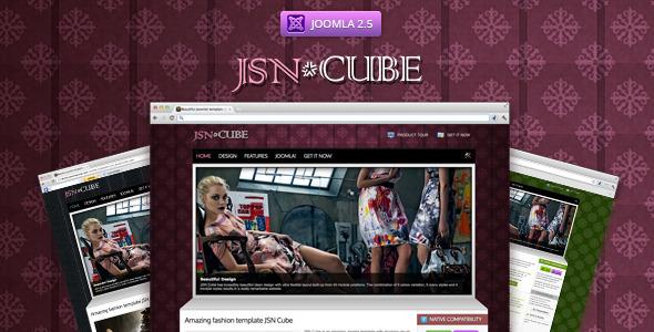 ThemeForest JSN Cube Joomla Fashion Responsive Template 2532483