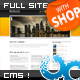 Robust Business & Portfolio Template w CMS & SHOP