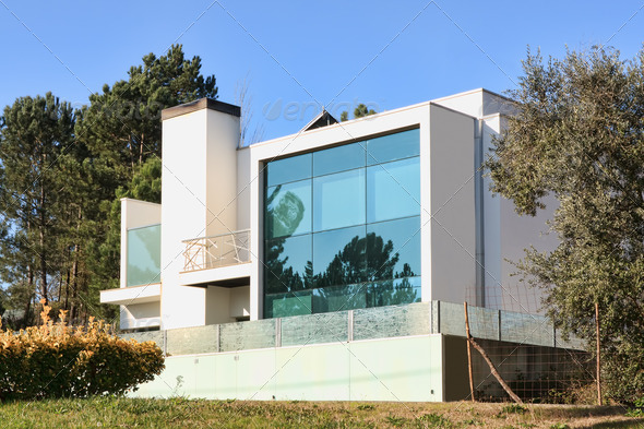 Modern House - Stock Photo - Images
