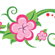 Green branches with flowers. - ActiveDen Item for Sale