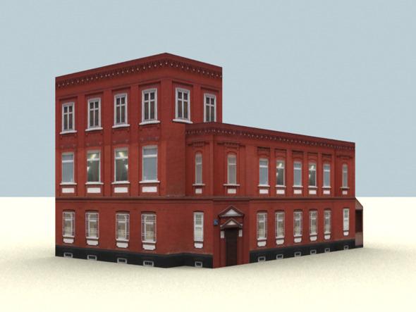3DOcean Low Polygon Buildings Vol.2 3094300