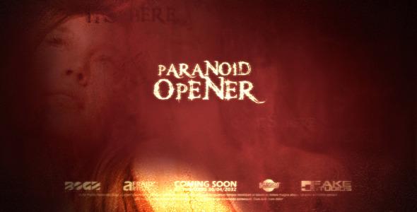 VideoHive Paranoid Grunge Cinematic Opener 3066883
