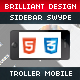 Troller Mobile Retina | HTML5 & CSS3 And iWebApp