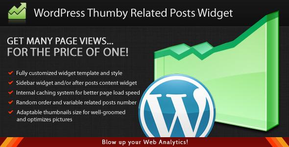 CodeCanyon WordPress Thumby Related Posts Widget 3003913