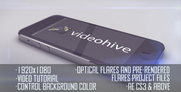 VideoHive iPhone 5 Horizontal Logo Display 3096551