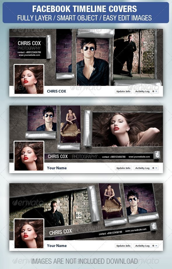 GraphicRiver Facebook Timeline Cover 3077707