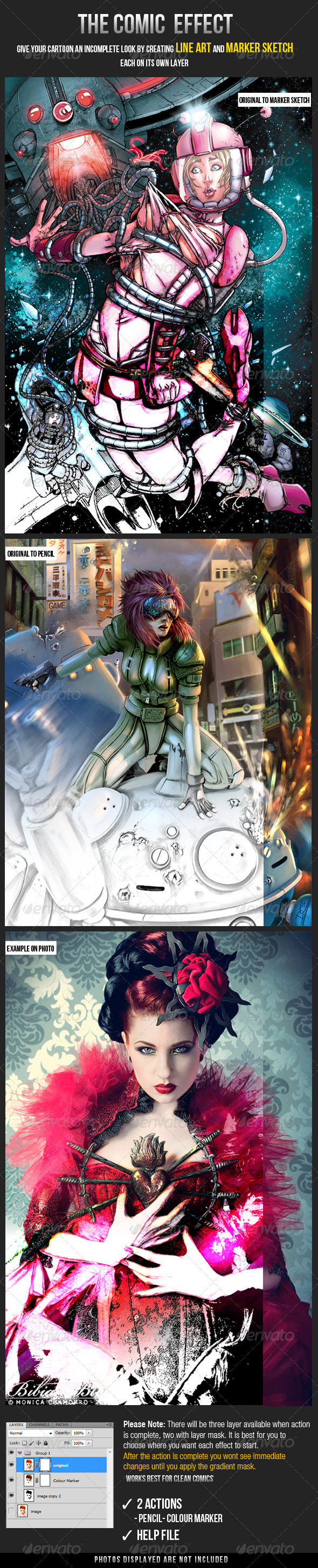 GraphicRiver The Comic Effect 3097503