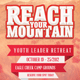 Reach Your Mountain Church Flyer Template