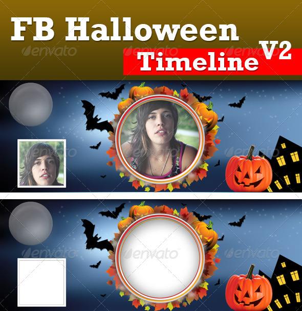 GraphicRiver Halloween FB Timeline V2 3082627