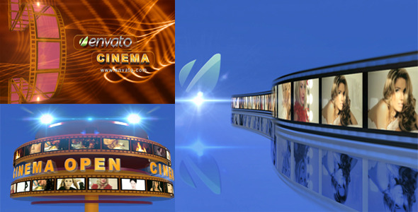 Videohive broadcast design cinema opener 3053302