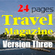 24 Pages Travel Magazine Version Three - GraphicRiver Item for Sale