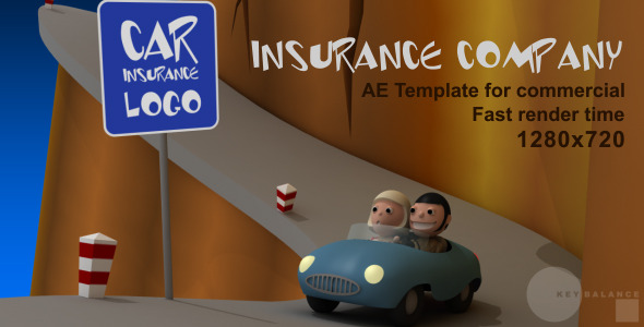 After Effects Project - VideoHive Insurance Company 3098363