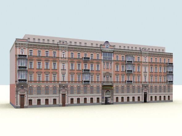 Low Polygon Buildings Vol.3 - 3DOcean Item for Sale