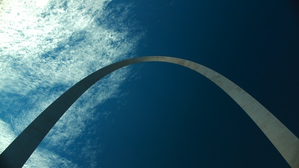 VideoHive St Louis Arch Time-lapse 3099105
