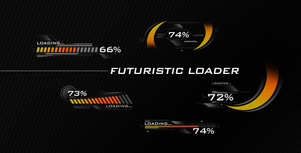 VideoHive Futuristic Loading Screen 3099734