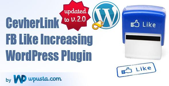 CodeCanyon CevherLink FB Like Increasing WordPress Plugin 2975470