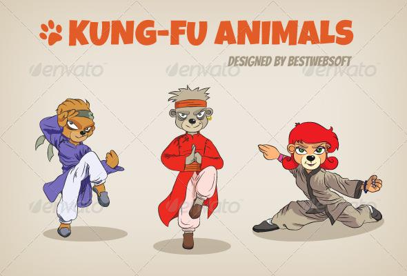 Kung-fu Animals