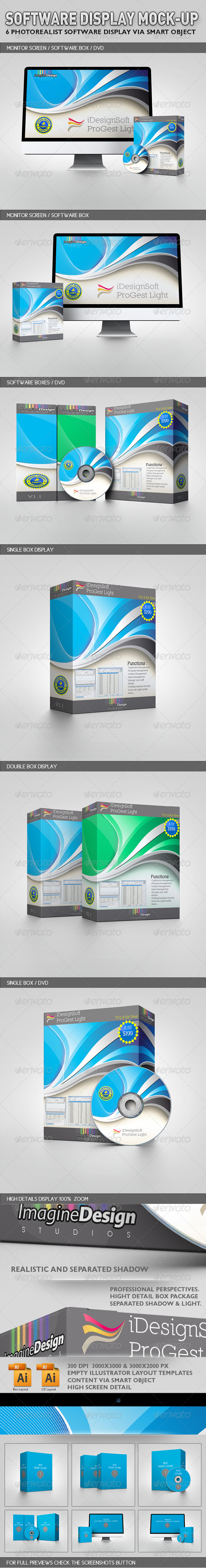 Software Display Mock-up - Miscellaneous Packaging