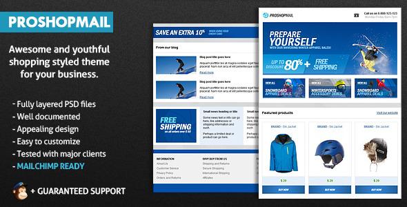ProShopMail E-Mail Template