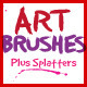 Paintbrush Art Brushes For Illustrator - GraphicRiver Item for Sale