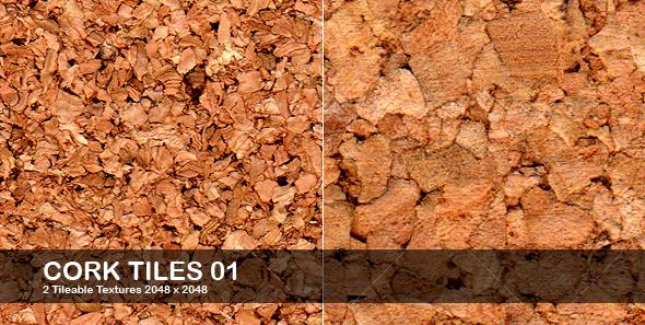 GraphicRiver Cork Tiles 32591